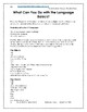 Montessori DAILY Lesson Plan MAY 4 weeks of curriculum