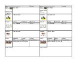 Montessori Daily check list