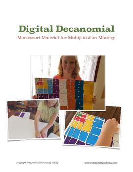 Montessori Decanomial for Multiplication Mastery