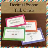 Montessori Decimal System Task Cards