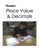 Montessori Decimals