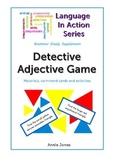 Montessori Detective Adjective Game