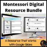 Montessori Digital Resource Bundle #distancelearning