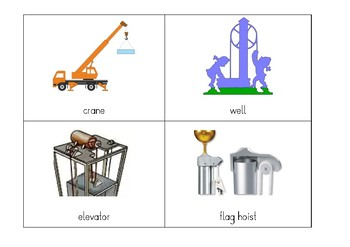 Montessori Discussion Cards: Simple Machines