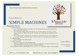 Montessori Discussion Cards: Simple Machines