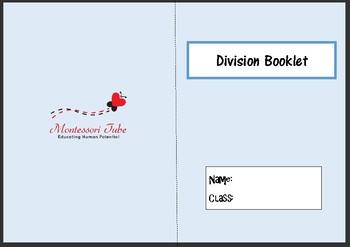 Montessori Division Booklet