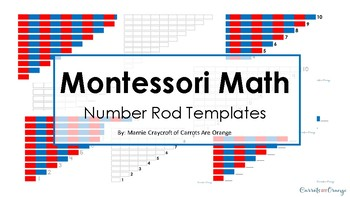 Montessori Early Childhood Math - Number Rods Extensions