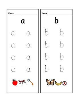 Montessori Early Grammar - letter writing practice