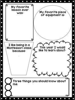Montessori Elementary Back to School Bundle