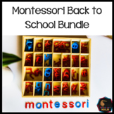 Montessori Elementary Back to School Bundle