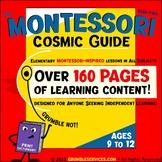Cosmic GUIDE BUNDLE: Lessons, Montessori Math help & Langu