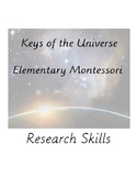 Montessori Elementary Research Skills - Preview