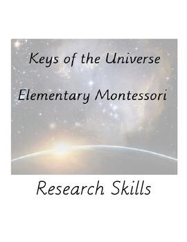 Montessori Elementary Research Skills - Preview