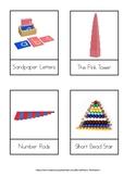 Montessori Environmental Labels/3 Part Cards