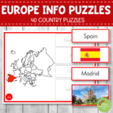 Montessori Europe Country Facts Puzzles