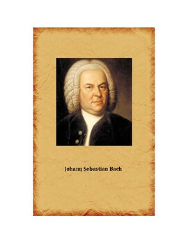 Montessori Famous Composers Cards