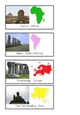 Montessori Famous Landmark Cards - Set 2