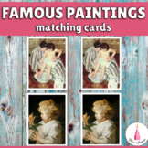 Famous Paintings Matching Activity