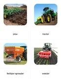 Montessori Farm Technology 3 Part Cards