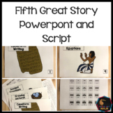Montessori Fifth Great Story Script and Powerpoint