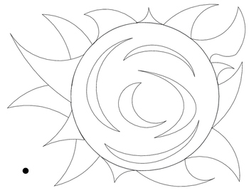 Montessori Formation of the Universe Coloring Sheets