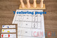 Montessori Fraction task card / Math Fraction activity