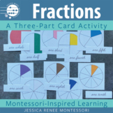 A Fractions Lesson with Montessori Three-Part Cards