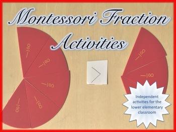 Montessori Fraction Activities