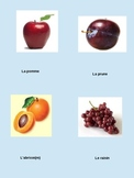 French Flash Cards (fruit)