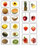 Montessori Fruit Matching Cards-Inside to Outside-Science,