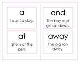 Montessori Sight Words 45 words sentences story prompt picture writing centers