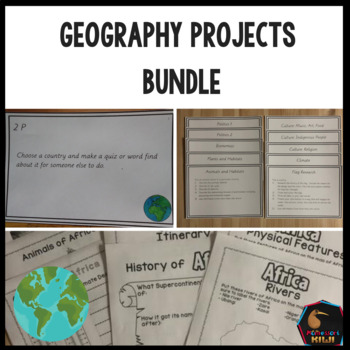 Geography Projects Bundle