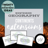 Montessori Continents Extensions