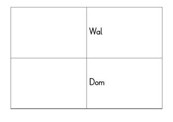 Montessori German / Deutsch Pinke Leseserie