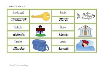 Montessori German: Grüne Leseserie