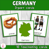 Montessori Germany 3-part Cards