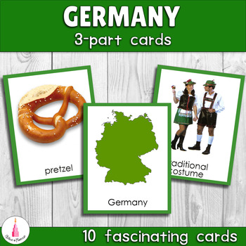 Montessori Germany 3-part Cards
