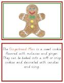 Montessori Gingerbread Man Definition Book