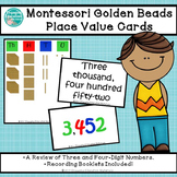 MontessoriLove Golden Beads Place Value Cards