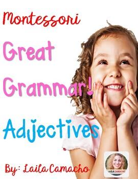 Montessori Grammar Adjectives