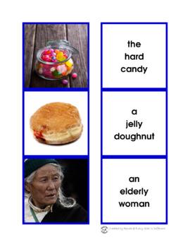 Montessori Grammar: Adjectives Printable Pack