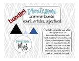 Montessori Grammar Bundle - Nouns, Articles, Adjectives