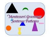 Montessori Grammar: Sentence Patterns