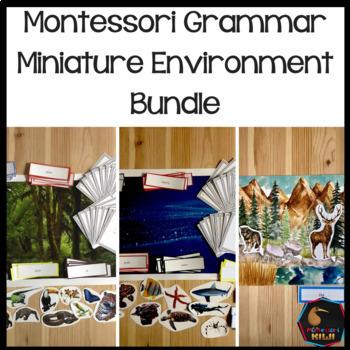 Montessori Grammar Environment Bundle