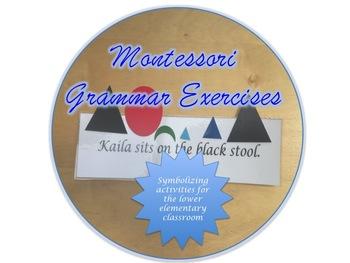 Montessori Grammar Exercise