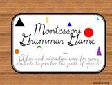 Montessori Grammar Game
