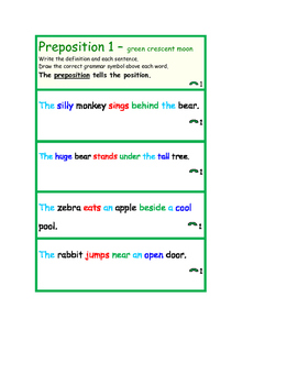 Montessori Grammar Lessons