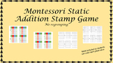 Montessori Stamp Game Static Addition