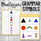 Montessori Grammar Symbol Charts