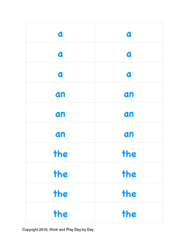 Montessori Grammar Set:  Life of Mary Cards
